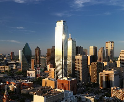 Downtown Dallas at Dusk