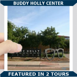 Buddy Holly Center Square Blue