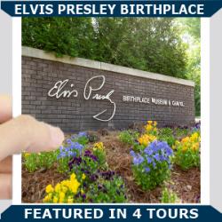Elvis Birthplace Blue