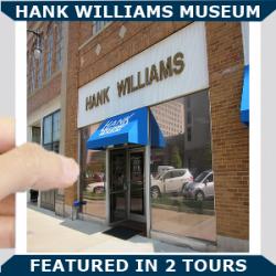 Hank Williams Museum Blue