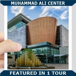 Muhammad Ali Center Square Blue