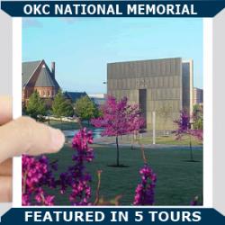 OKC National Memorial Square Blue