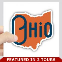 Ohio logo with bar
