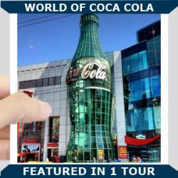World of Coca cola Blue
