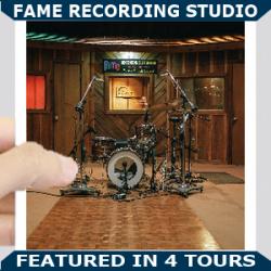 FAME Recording Studio Square Blue new