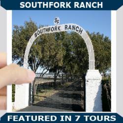 Southfork Ranch Blue new
